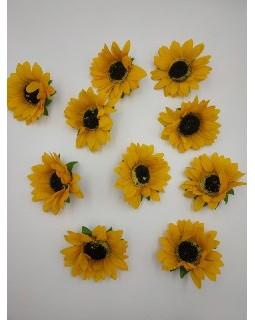 Квітка соняшник діаметр 10 см. Арт 2868
