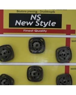 """Кнопки для одягу """"New  Style"""" 20 mm (темний метал та золотисті), 1 кнопка - 30 грн. Арт 281"""