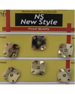 """Кнопки для одягу """"New  Style"""" 20 mm (золотисті), 1 кнопка - 35 грн. Арт 283"""