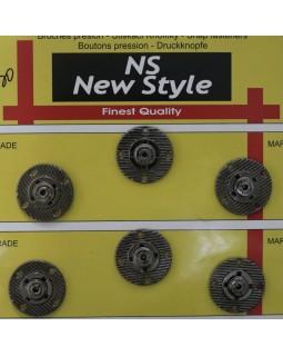 """Кнопки для одягу """"New  Style"""" 20 mm (темний метал), 1 кнопка - 30 грн. Арт 284"""