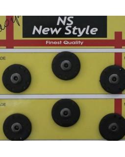"""Кнопки для одягу """"New  Style"""" 22 mm (чорні та білі), 1 кнопка - 20 грн. Арт 288"""