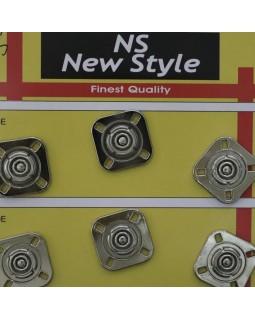 """Кнопки для одягу """"New  Style"""" 20 mm (темний метал), 1 кнопка - 35 грн. Арт 290"""