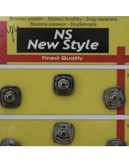 """Кнопки для одягу """"New  Style"""" 15 mm (темний метал та золотисті), 1 кнопка - 20 грн. Арт 291"""