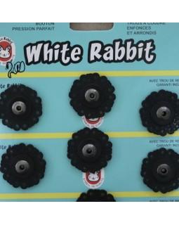 "Кнопки ""White Rabbit"" 25 mm (чорного кольору), 1 кнопка - 20 грн. Арт 292"