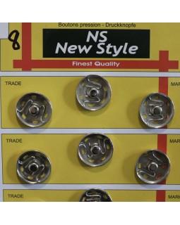 """Кнопки для одягу """"New  Style"""" 20 mm (світлий метал, золотисті, чорні, бронза), 1 кнопка - 8 грн. Арт 294"""