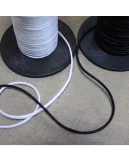 Резинка 3 mm (чорна та біла), 1 метр - 5 грн. Арт 304