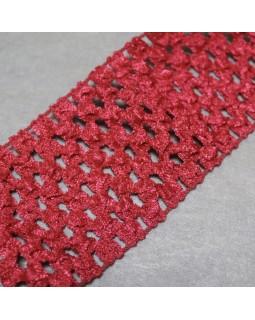 Резинка 5.5 см (червоного кольору), 1 метр - 20 грн. Арт 325