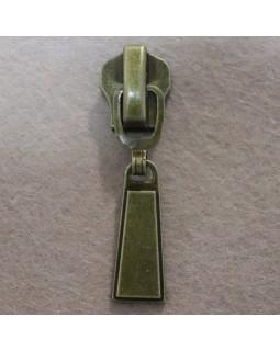 Бігунок до металевого замка № 8 (бронза). Арт 118