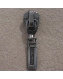 Бігунок до металевого замка № 8 (темний метал). Арт 120