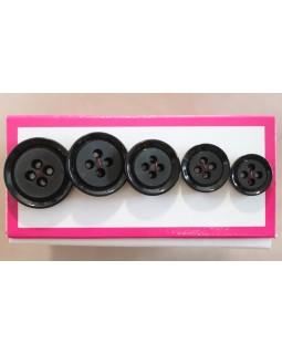 Гудзики для чоловічих костюмів на 4 отвори (14 mm, 17 mm, 19 mm, 22 mm, 24 mm). Арт 145