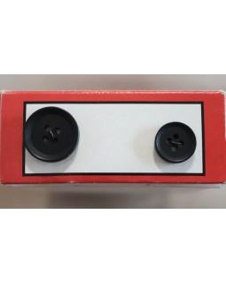 Гудзики для чоловічих костюмів на 4 отвори (14 mm, 19 mm). Арт 147