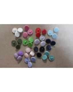 Гудзики блузочні (білі, зелені, рожеві, фіолетові, салатовий, червоний, сірий, чорний, блакитний, синій). Арт 154