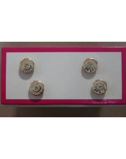 Гудзики блузочні з візерунком та камінцем. 1 гудзик - 4 грн. Арт 158