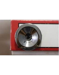 Гудзики імітація металу  на 2 отвори (темний метал) 30 mm. Арт 174