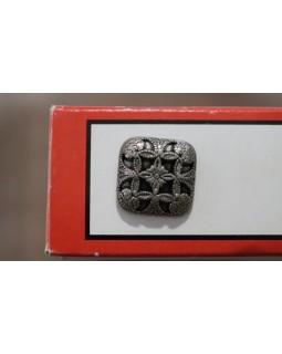 Гудзик імітація металу (темний метал) 18 mm. Арт 181