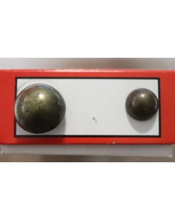 Гудзик імітація металу (бронза). Арт 182