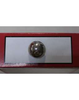 Гудзик імітація металу (темний метал) 16 mm. Арт 184