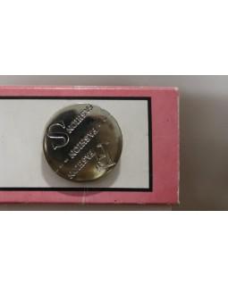 Гудзик імітація металу, 22 mm. Арт 186