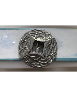 Гудзик імітація металу, 35 mm. Арт 192