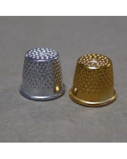 Наперстки (сріблясті та золотисті). Арт 247