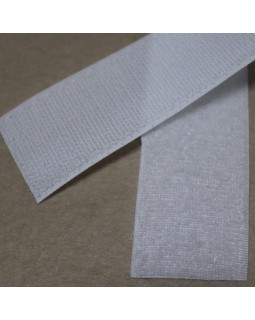 Липучка для одягу (білого кольору). Арт 250