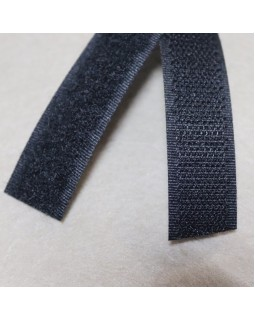 Липучка для одягу (чорного кольору). Арт 251