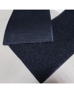 Липучка для одягу (чорного кольору). Велика (10 см). Арт 252