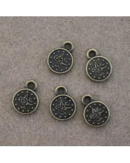 Фурнітура для браслетів (бронза), діаметр - 1 см, 1 штука - 2 грн. Арт 396