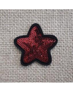 Термоаплікаія зірка. Арт 1353