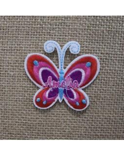 Термоаплікація метелик.Арт.1366