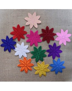 Термоаплікація квітка.Арт.1369