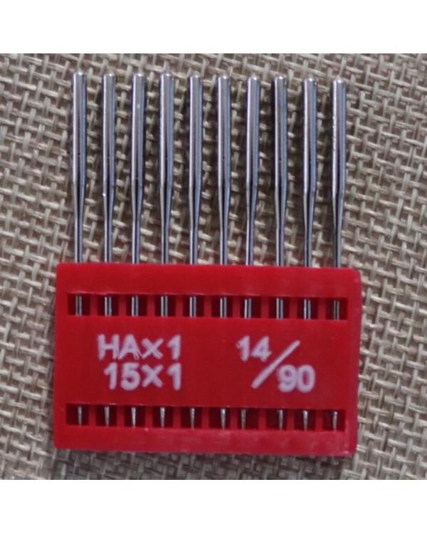 "Арт 49. Голки ""TNC"" HAx1 15x1, 14/90, 1 набір (пластинка) - 20 грн."